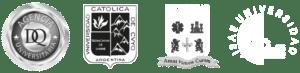 Logo DQ,Universidad de Cuyo, Universidad CLEA y Universidad ISAE