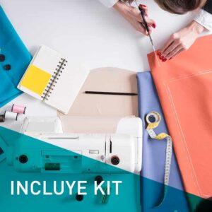 Máster en Patronaje Industrial y Moda con Kit de Costura