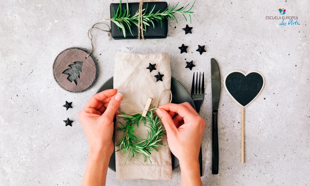 8 ideas para crear centros de mesa navideños