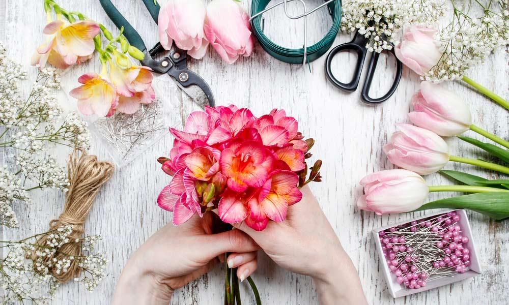 Diseño floral: cómo ser florista profesional