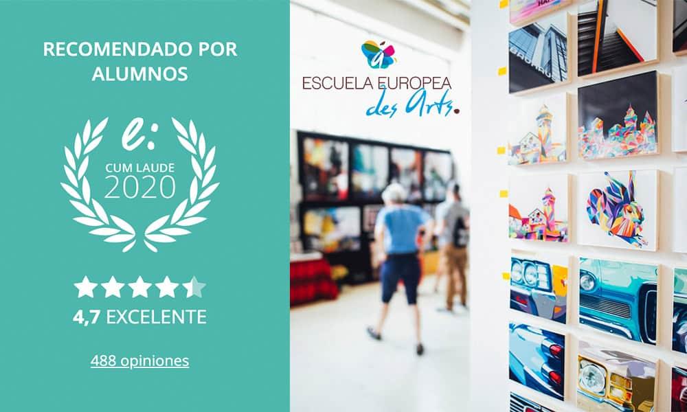 Escuela Des Arts Opiniones galardonada con el 5º Sello Cum Laude