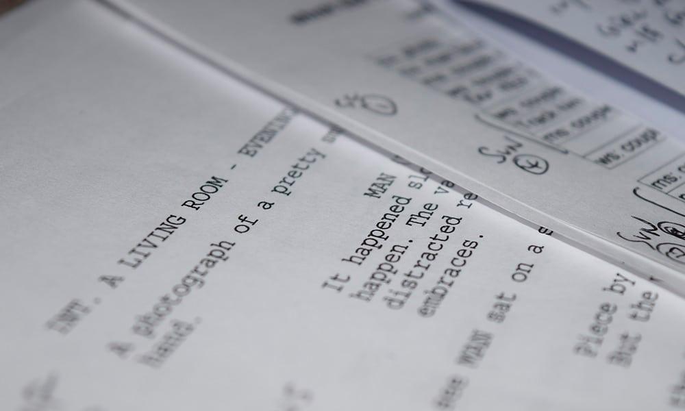 Descubre las claves de un guion cinematográfico