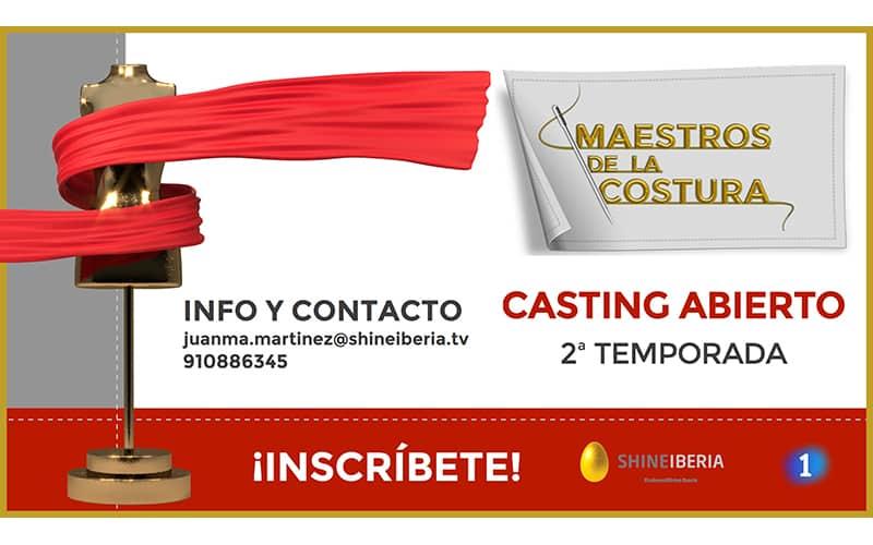 Casting Maestros de la Costura 2